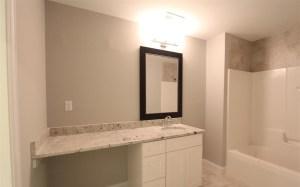 bathroom renovation basement