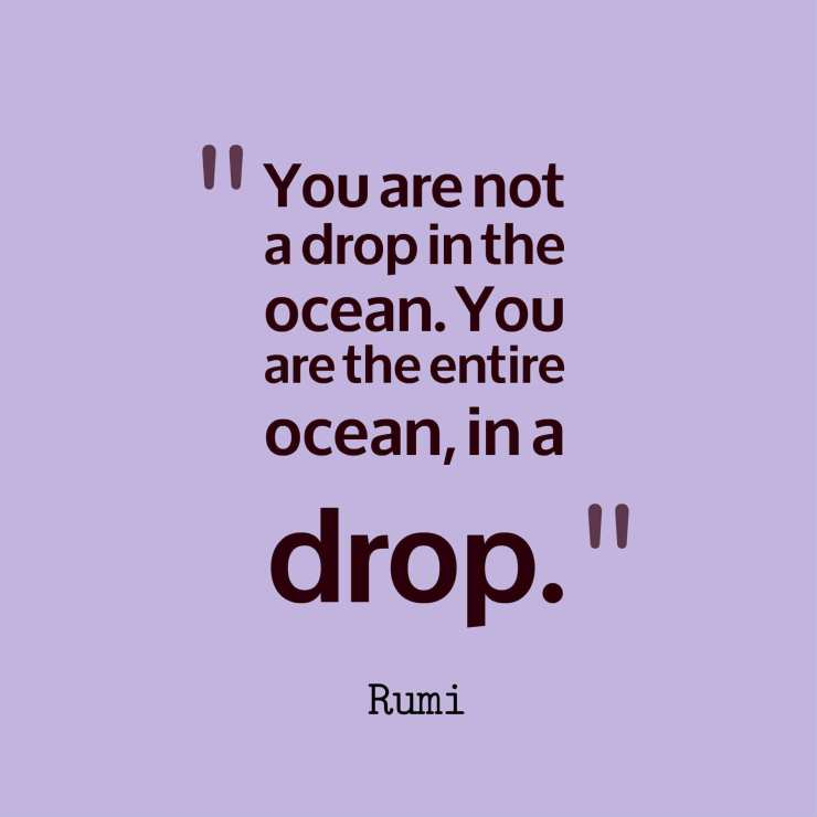 rumi quotes on life love beauty soul
