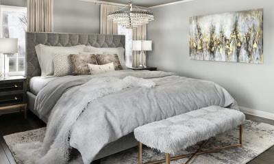 bedroom interior design - luxury touch - ideas
