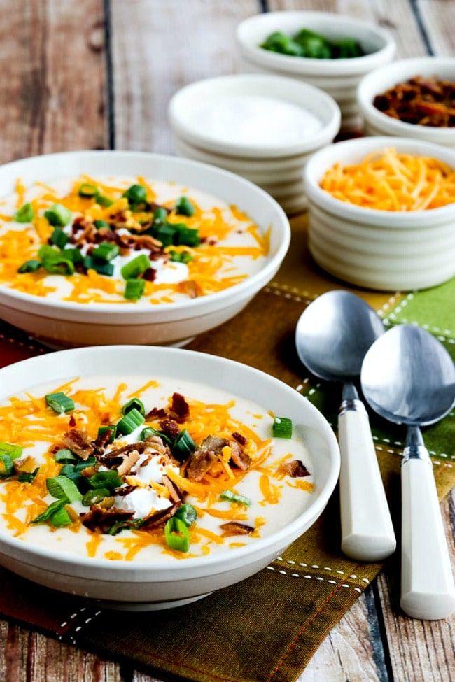 instant-pot-loaded-cauliflower-soup