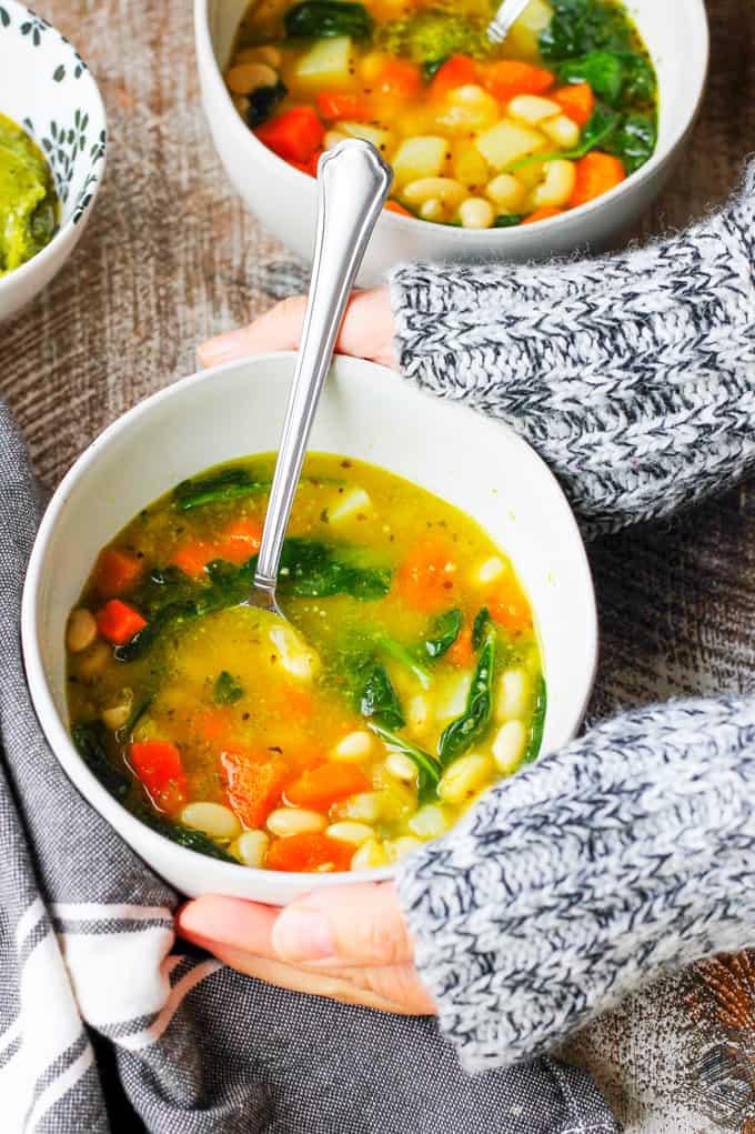 Instant-Pot-Bean-Soup