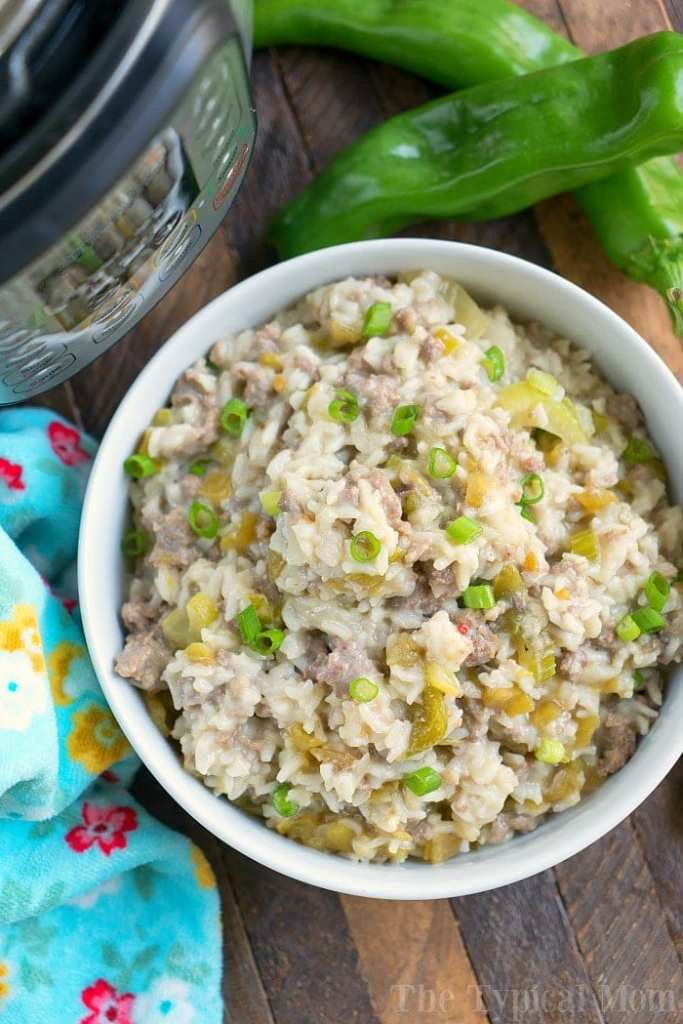 Pressure-Cooker-Sausage-Rice-Casserole