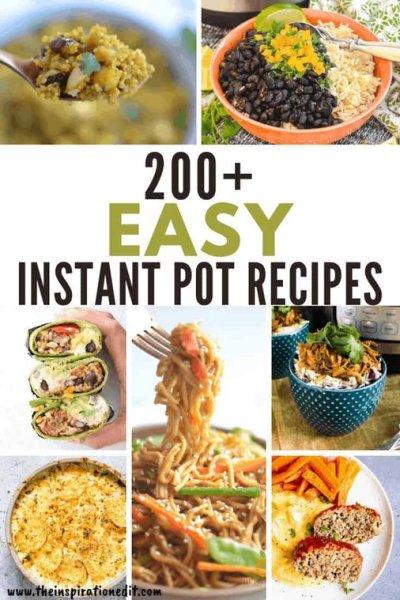 200 easy instant pot recipes