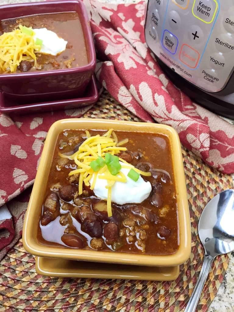 instant pot beef chili bariatric friendly recipe