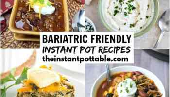 instant pot bariatric recipes