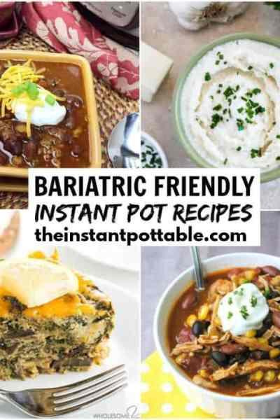 instant pot bariatric recipes