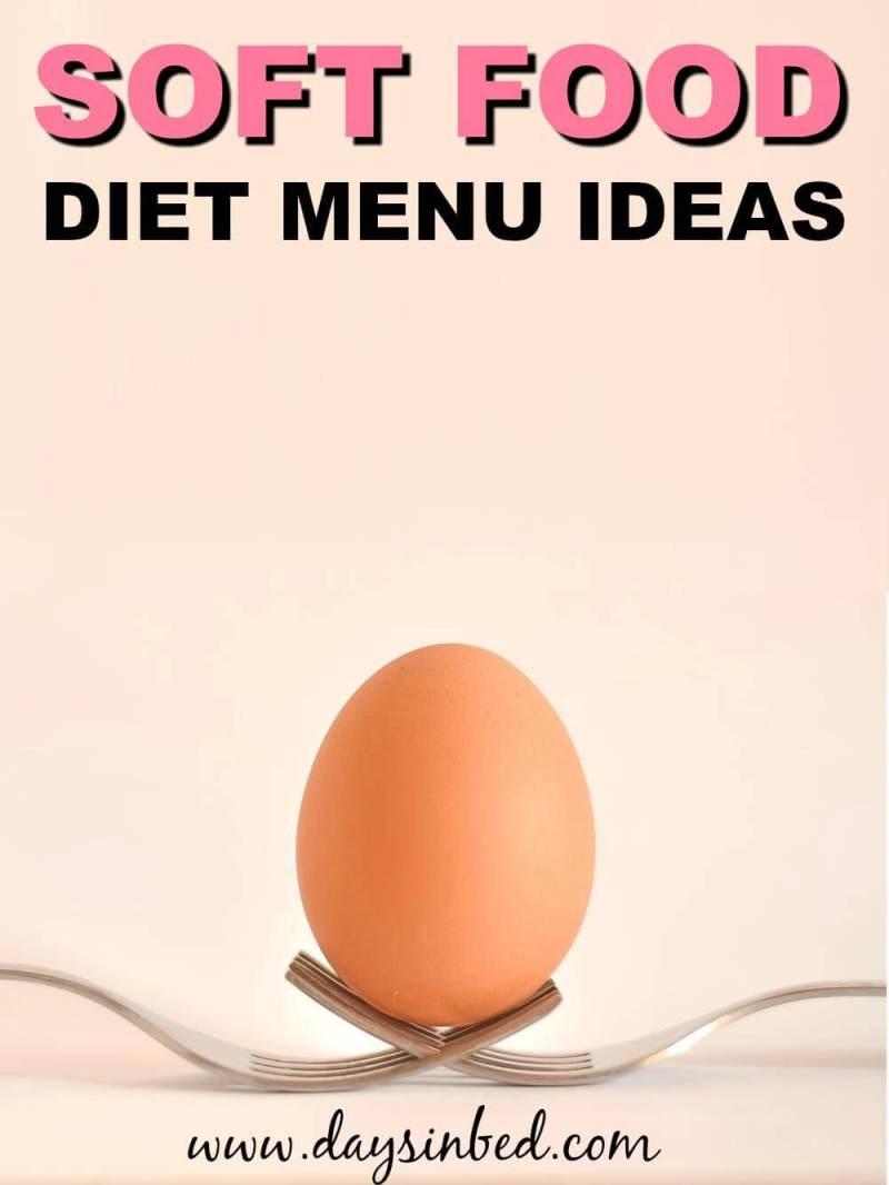 soft food diet menu ideas