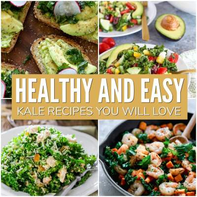 healthy and easy kale recipes