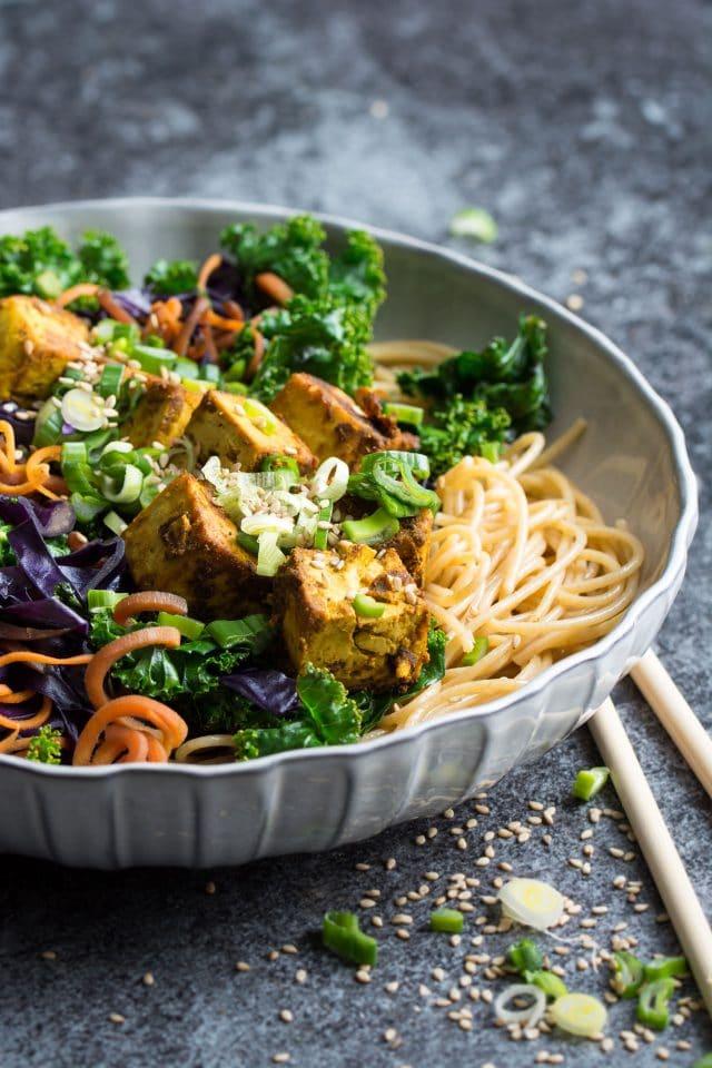 Instant-Pot-Kale-Stir-Fry-with-Crispy-Curried-Tofu