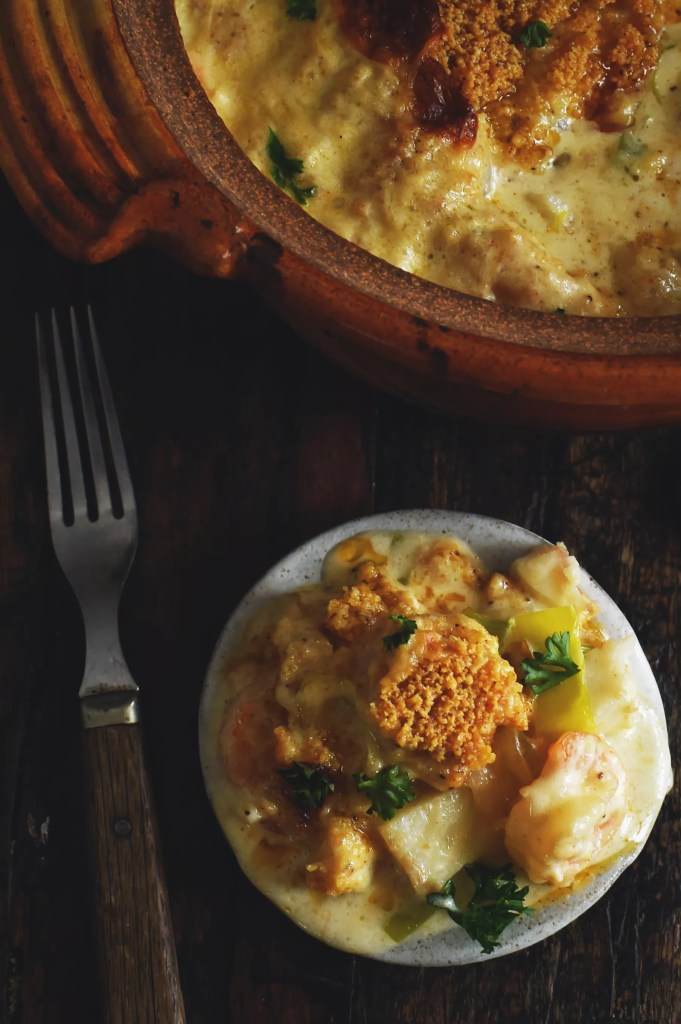 Instant-Pot-Low-Carb-Baked-Seafood-Casserole-Recipe