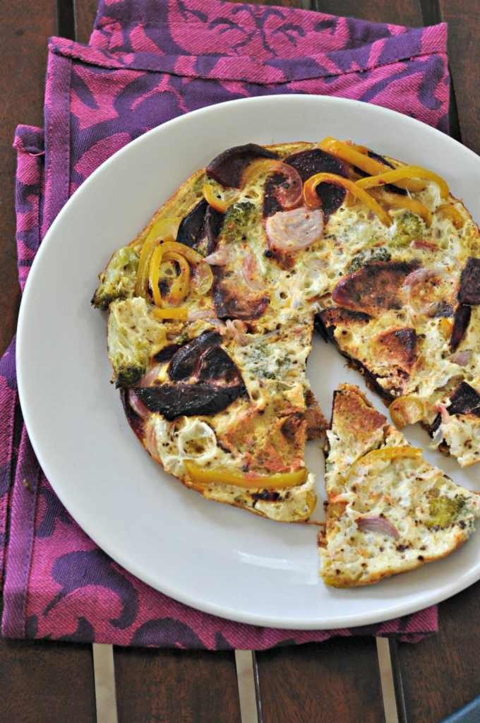 Instant-Pot-egg-white-frittata-with-roasted-vegetables