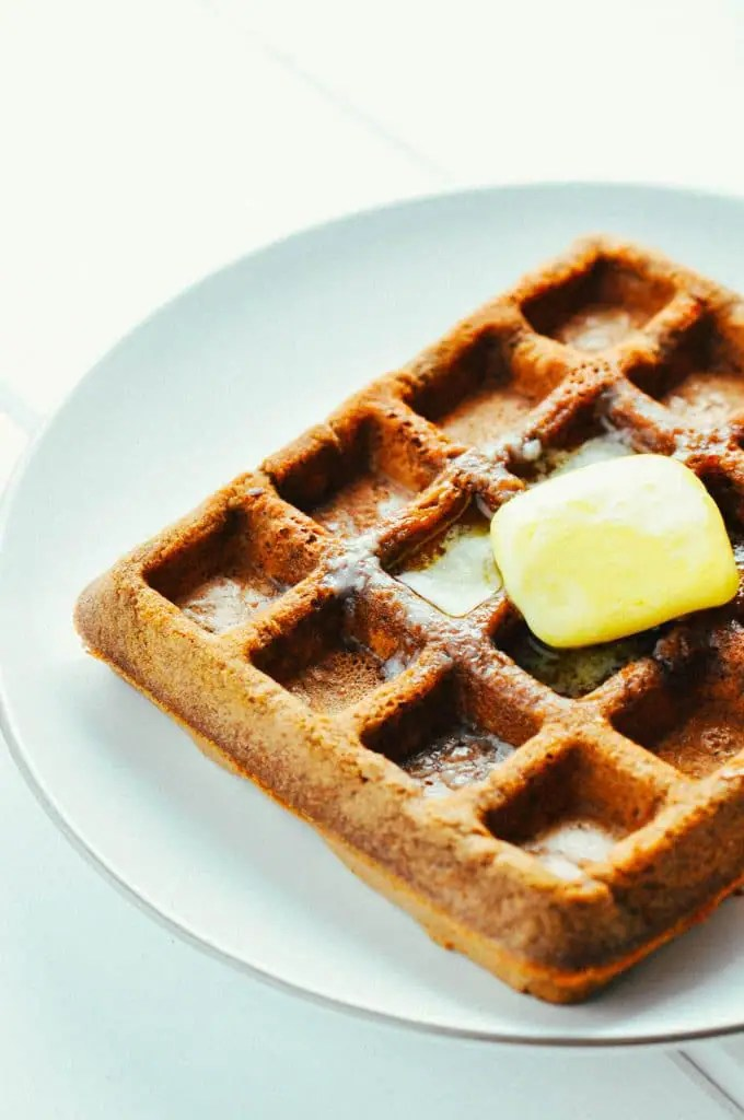Instant-Pot-chocolate-protein-waffle
