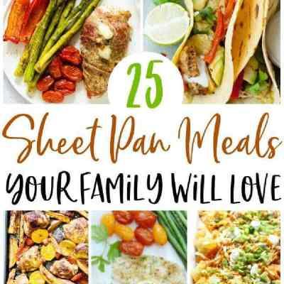 healthy sheet pan recipes