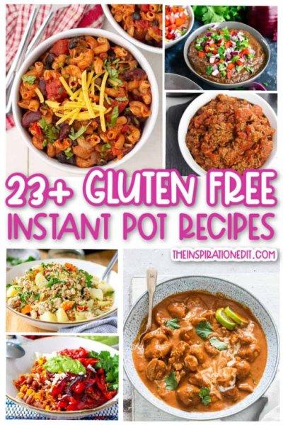 gluten-free instant pot recipes