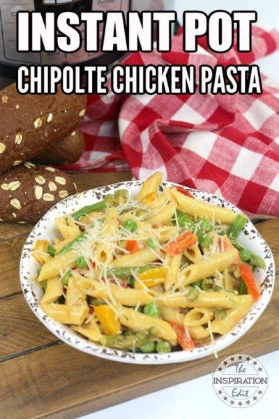 chipolte pasta pressure cooker recipe