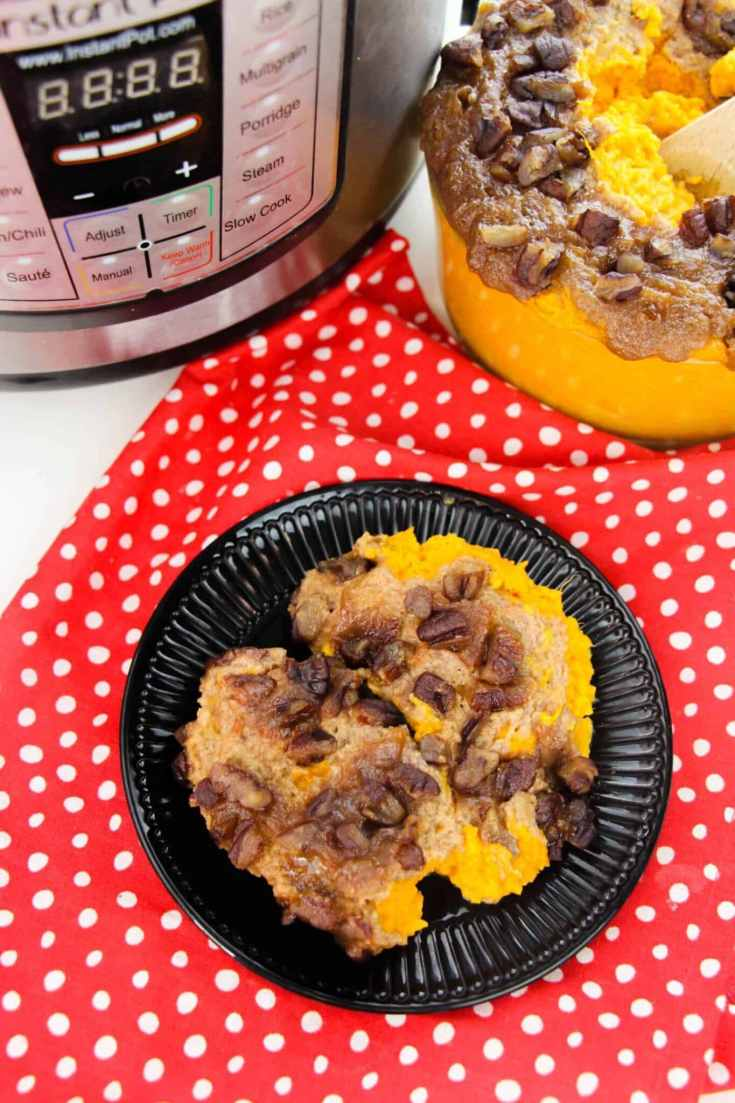 instant pot sweet potato casserole