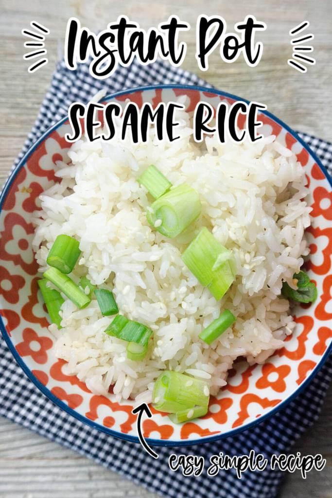 Instant-pot-Sesame-Rice