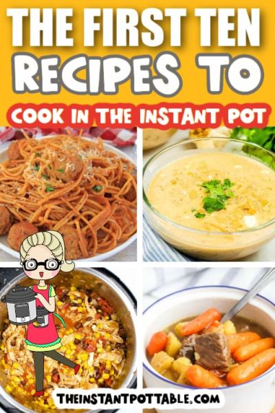 ten recipes to cook in the instant pot