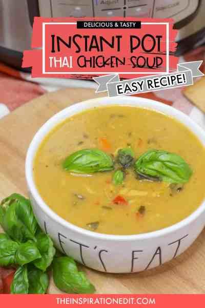 instant pot thai soup recipe