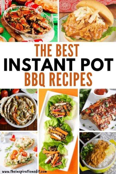 the best instant pot bbq recipes