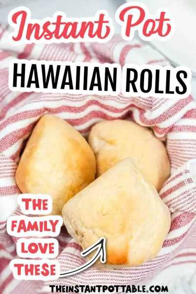 hawaiian rolls on a teatowel