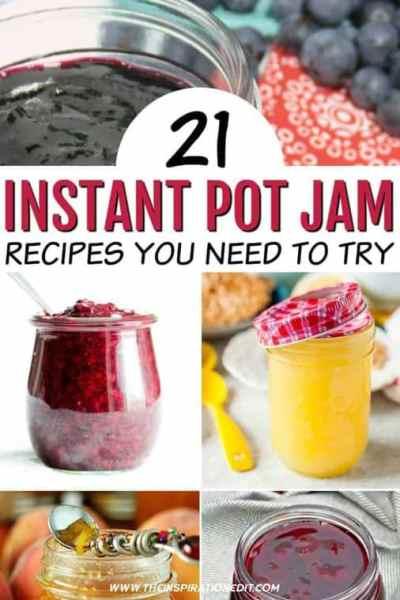 Jam recipes for the instant pot