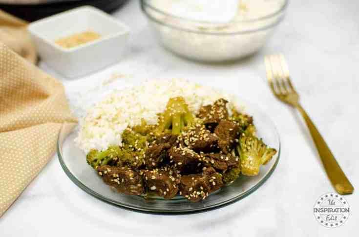 instant pot Beef broccoli