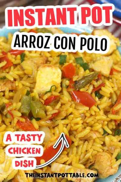 instant pot arroz con pollo recipe