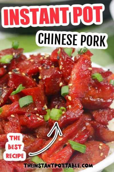 instant pot chinese pork