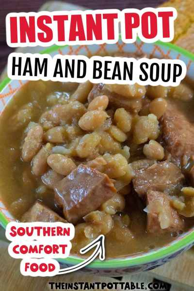 instant pot white beans and ham soup