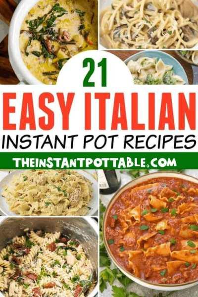 italian instant pot recipes
