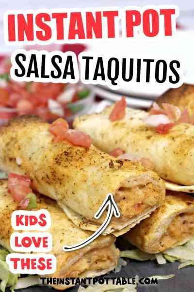chicken taquitos instant pot recipe
