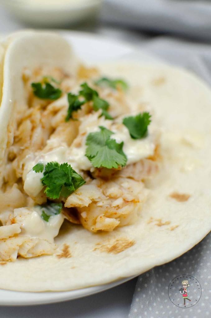 Instant Pot Fish Tacos Recipe