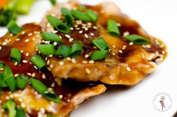 Instant Pot Salmon Teriyaki