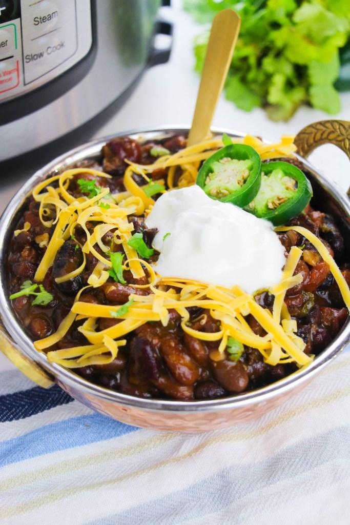 instant pot chili beans