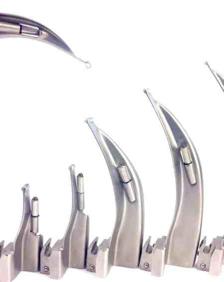 Macintosh Laryngoscope 7 Curved Blades