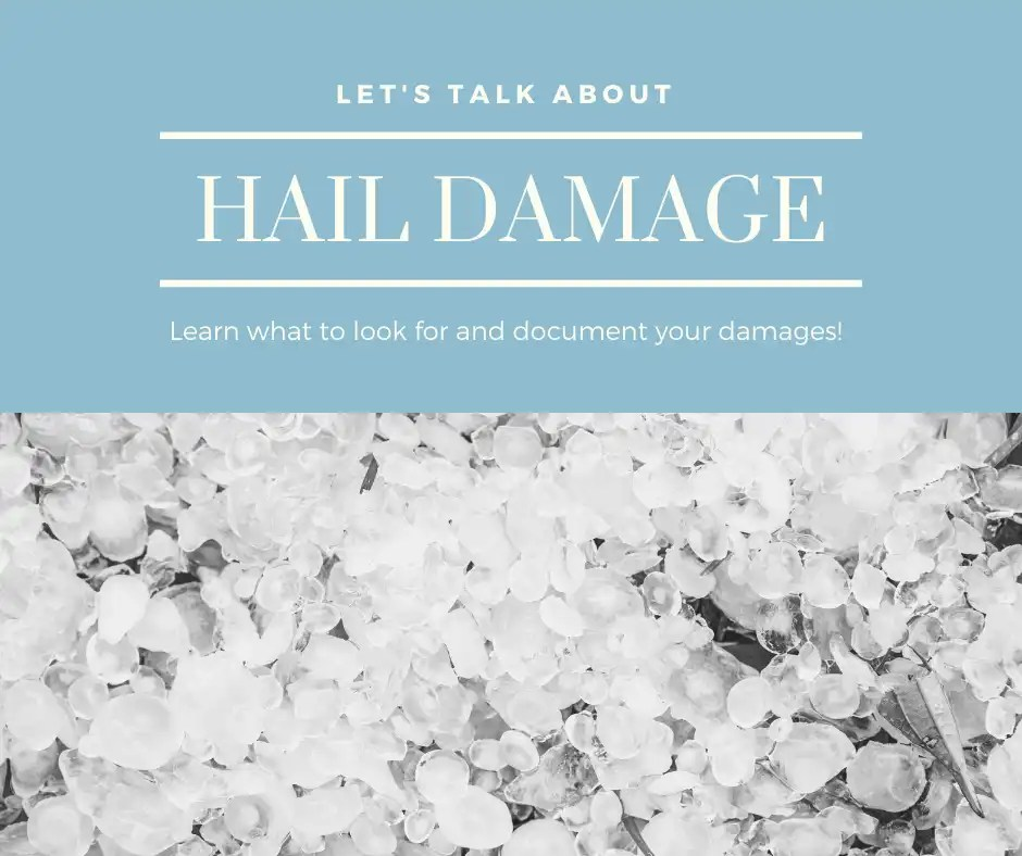 How to prepare for your hail claim via @The_Insurance_Confidential