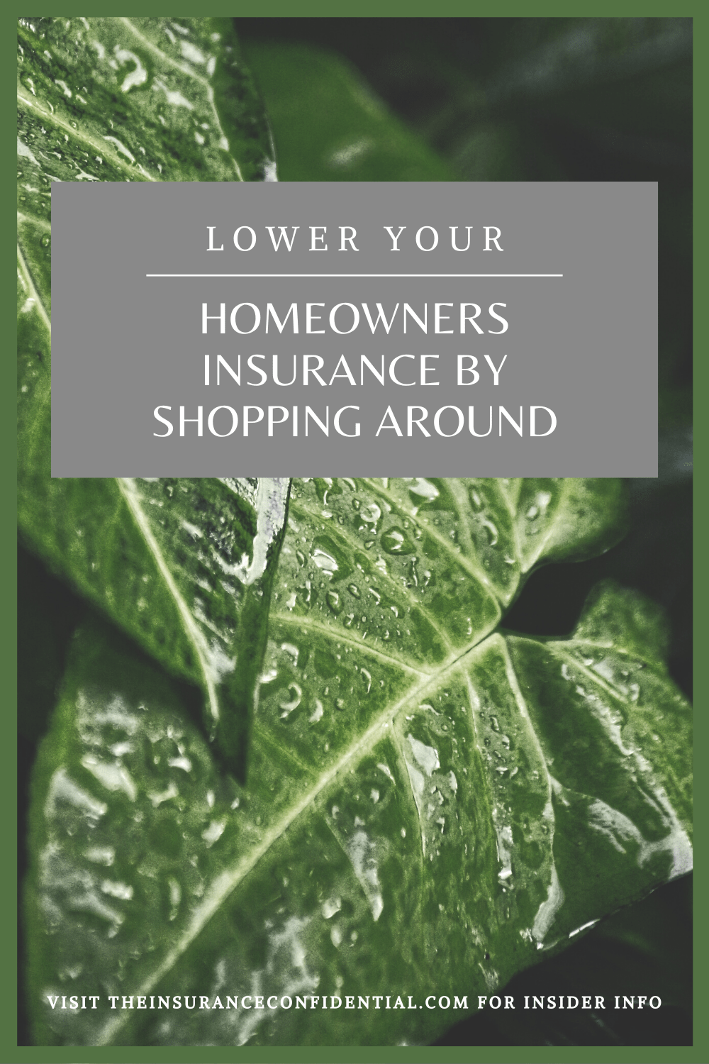 Learn how to lower your homeowners insurance by simply shopping around. I've included a how to guide along with downloads to help you compare insurance. via @The_Insurance_Confidential