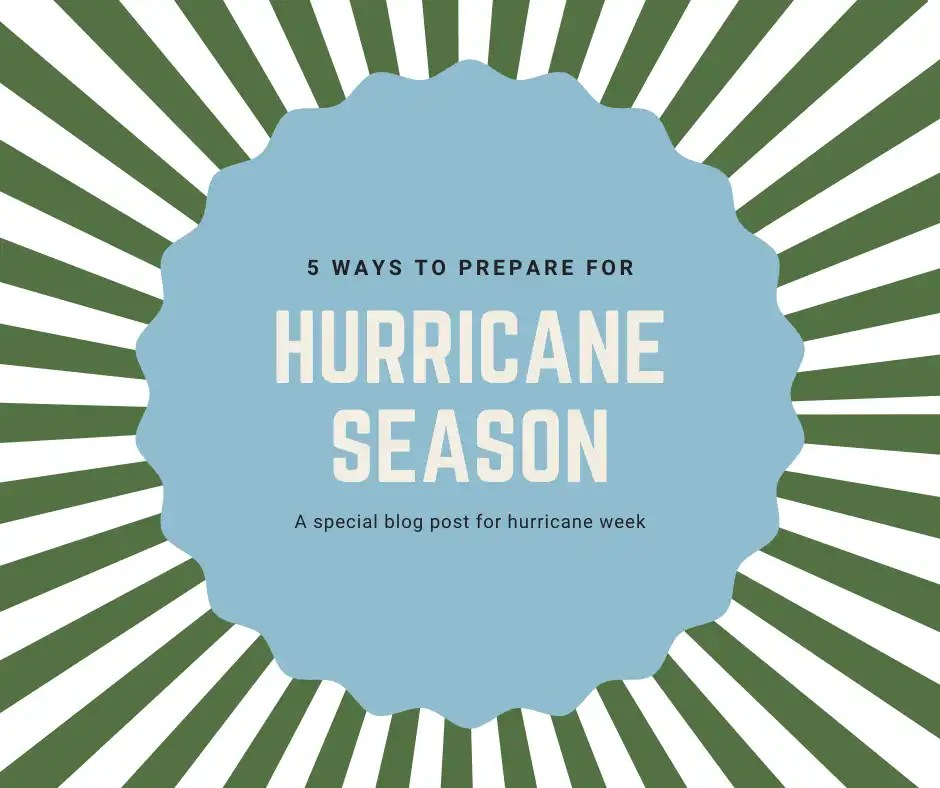 5 ways to prepare for Hurricane Season via @The_Insurance_Confidential
