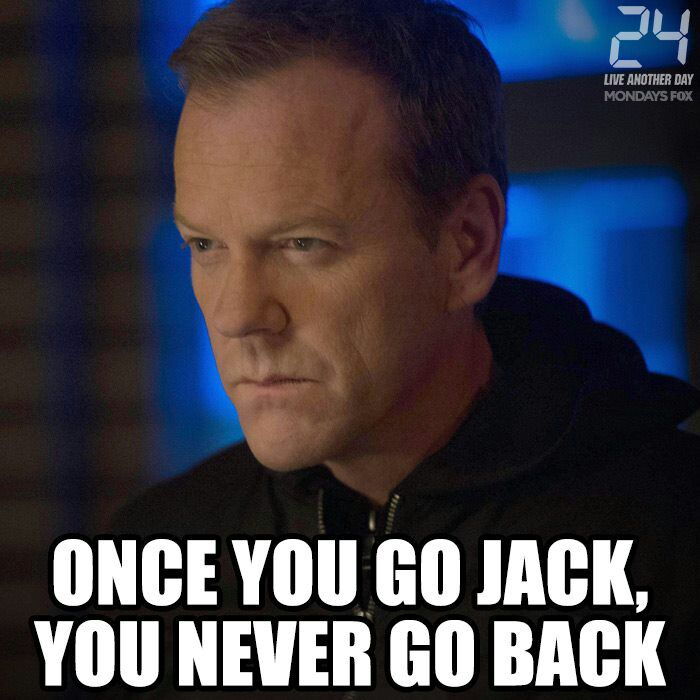 Once You Go Jack, You Never Go Back