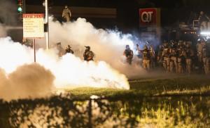 Ferguson race riots