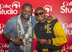 Dj Space (right) and Kris Darling