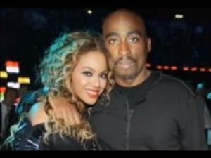 Tupac With Beyonce (Huzlers.com)