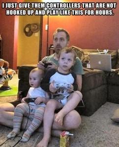 11. Gaming dad