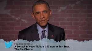 Obama Kimmel Mean Tweets