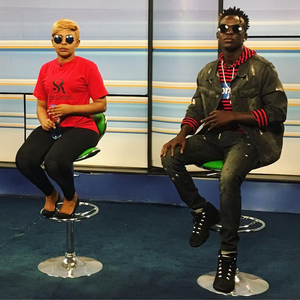 Did Willy Paul walk out on a radio interview?