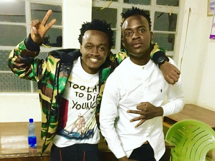 Bahati and Willy Paul.