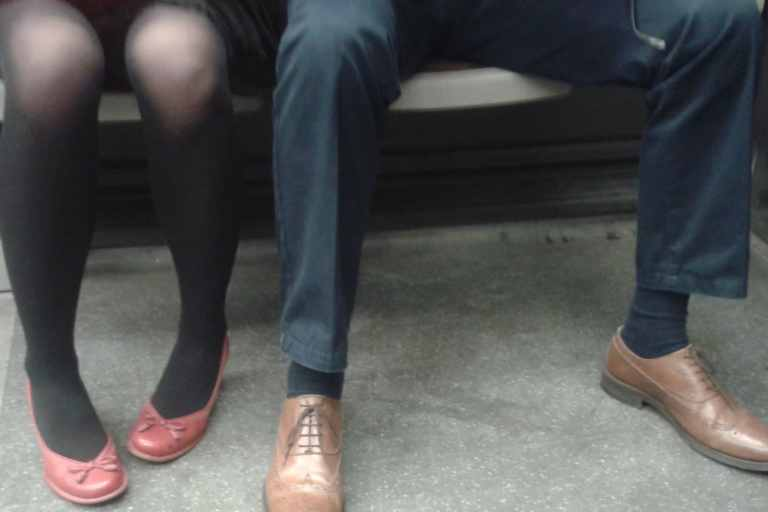 Beware men, in Madrid you can be arrested for 'Manspreading'