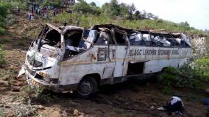 Breaking: Lokichar Students involved in road accident