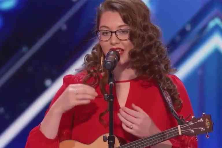 Mandy Harvey; Inspiring deaf singer who moved crowd to tears